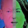 Portrait, Polititische farbenlehre, Menschen, Kopf