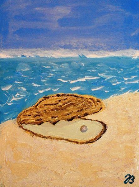 Meer, Perlen, Wasser, Strand, Welle, Sand