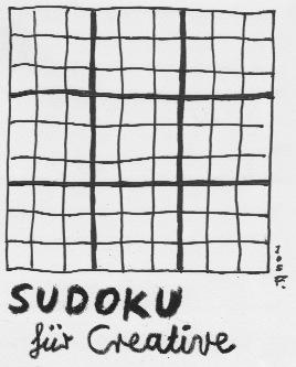Sudoku, Kreativ, Malerei