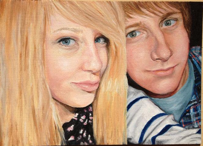 Malerei, Portrait