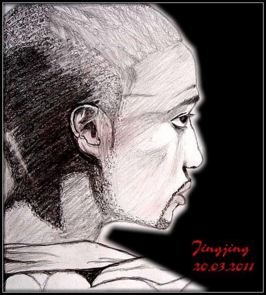 Simple sketch, Akon, Malerei