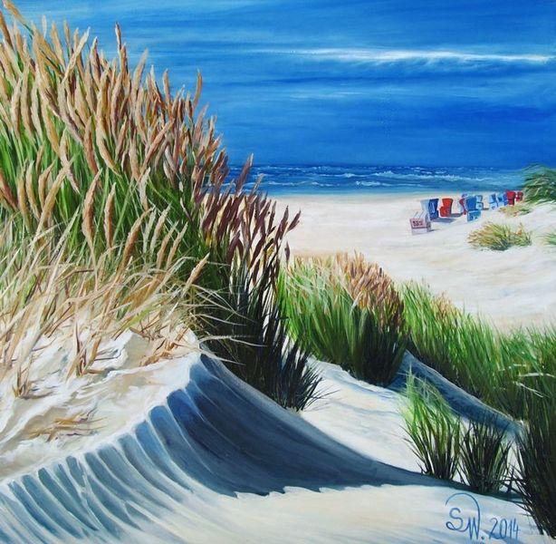 Sand, Sonne, See, Idylle, Strand, Wasser