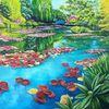 Teichrosen, Waterlily, Frühling, Stimmung