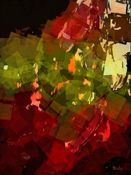 Abstrakt, Abstrakte kunst, Digitale kunst