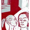 Hoss, Verl, Linolschnitt, 2013