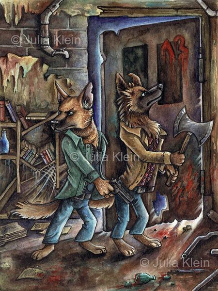 Tiere, Hund, Grusel, Cartoon, Samwinchester, Übernatürlich