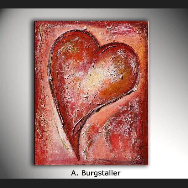 Gemälde, Geschenk, Dekoration, Abstrakte gemälde, Acrylmalerei, Liebe