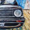 Gemälde, Verkehr, Malen, Acrylmalerei
