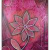 Blumen gemälde, Acrylmalerei, Blumen, Malen