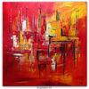 Abstrakte malerei, Abstrakte kunst, Gemälde original, Gemälde