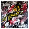 Hengst, Acrylmalerei, Liquid painting, Abstrakt