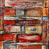 Gemälde, Zeitgenössisch, Handgemaltes acrylbild, Malen