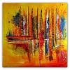 Abstrakt, Orange, Malen, Herbst