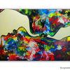 Mann frau, Malen, Abstrakt, Acrylmalerei