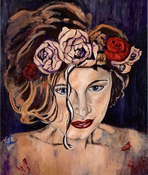 Portrait, Realismus, Malerei