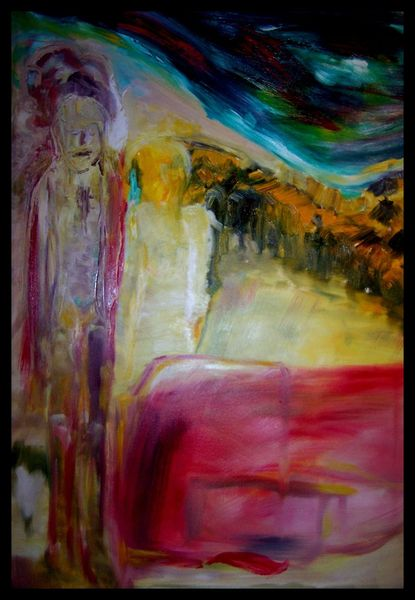 Ölmalerei, Acrylmalerei, Malerei, Wanderung,