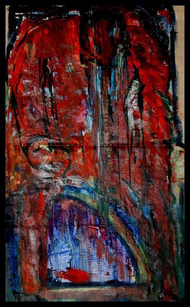 Malerei, Ölmalerei, Krieger