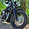 Motorrad, Menschen, Freiheit, Rausch