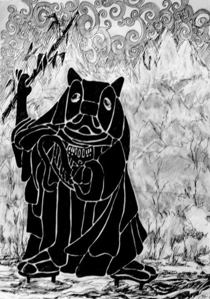 Darth vader, Panda, Star wars, Grafik, Macht, Zeichnungen