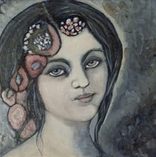 Augen, Buch, Tiere, Indianer, Geige, Malerei