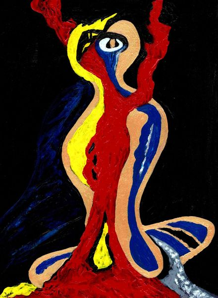 Blau, Liebe, Figural, Gelb, Struktur, Figur