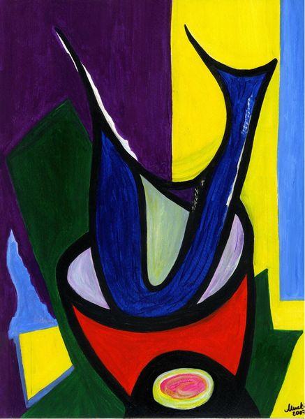 Abstrakt, Formen, Knallige farben, Fantasie, Treffen gefäß, Zeitlos