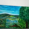 Acrylmalerei, Ausdruck, Landschaft, Malerei