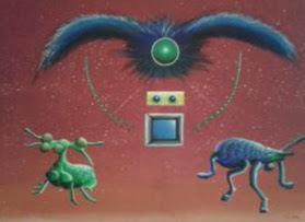 Malerei, Modern, Acrylmalerei, Gemälde, Ursprung