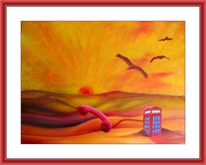 Malerei, Gemälde, Rettung