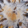Acrylmalerei, Zeitgenössische kunst, Ocker, Braun