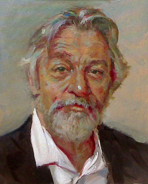 Malerei, Ölmalerei, Gemälde, Portrait,
