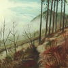 Sonne, Ölmalerei, Malerei, Natur