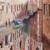 Pallazi, Impressionismus, Venedig, Spiegelung