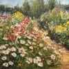 Realismus, Blumen, Landschaft, Wiese