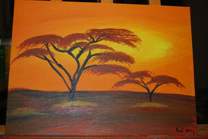 Malerei, Steppe