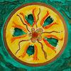 Blumen, Grün, Besinnlichkeit, Mandala
