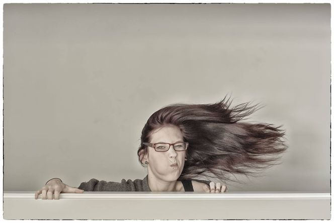 Tageslichtfotografie, Frau, Portrait, Haare, Fotografie,
