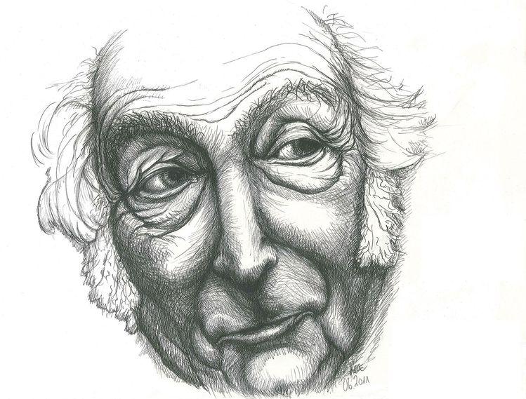 Mann portrait gesicht, Ausdruck, Zeichnungen