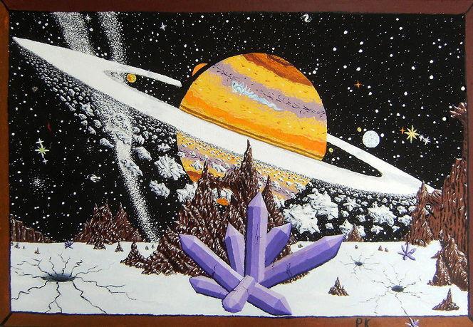 Schnee, Universum, Asteroid, Eis, Fantasie, Stern