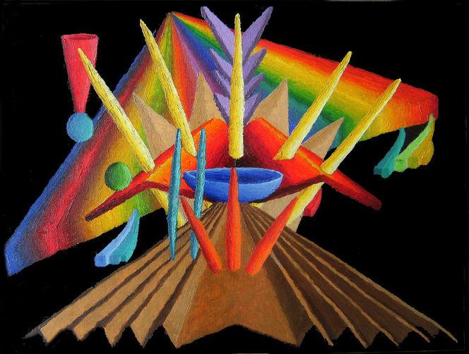 Ölfarben, Synästhesie, Abstrakt, Malerei, Ausstellung