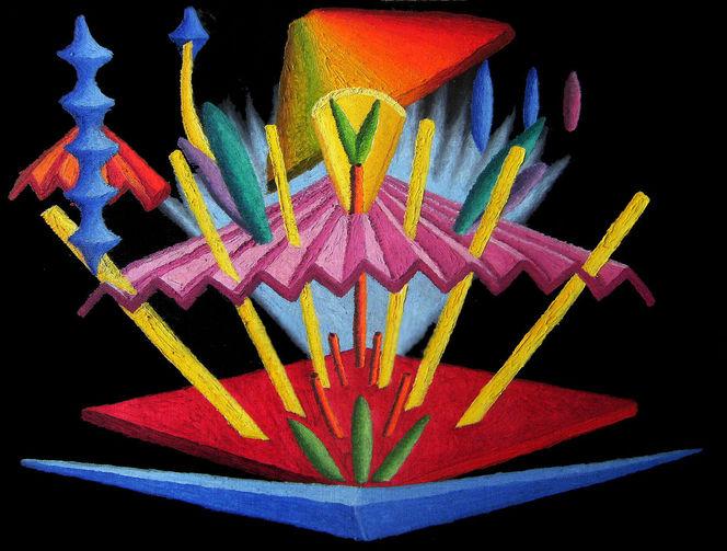 Synästhesie, Abstrakt, Malerei, Ölfarben, Ausstellung, Markt