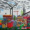 Fantasie, Malerei, Surreal, Acrylmalerei