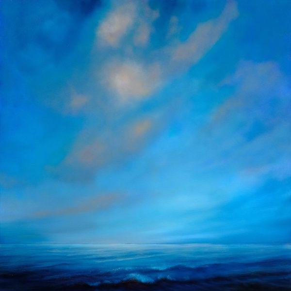 Stimmung, Lichtvoll, Weite, Wolken, Licht, Welle