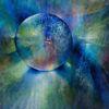 Rund, Glasperlenspiel, Spiegelung, Glas