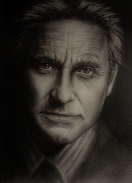 Menschen, Fotorealismus, Malerei, Portrait, Mann, Ölmalerei