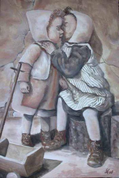 Menschen, Kinder, Malerei