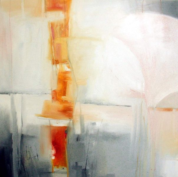 Orange, Licht, Herbst, Malerei