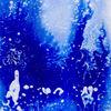 Blau, Tanz, Wasserell, Tinte