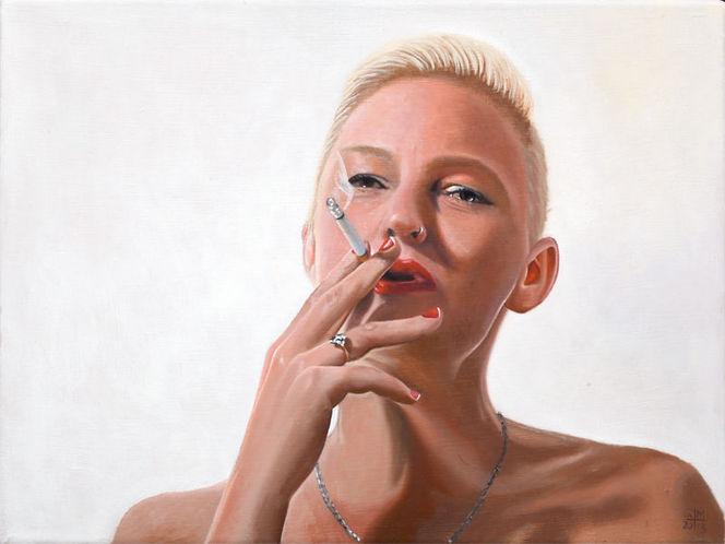 Portrait, Ölmalerei, Gemälde, Maki art studio, Berlin, Auftragsarbeit