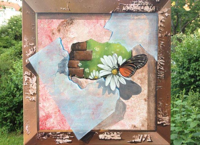 3d, Acrylmalerei, Malerei,